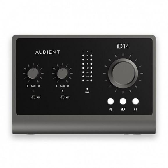 Audient - iD14 MKII 10-In/6-Out Professional Audio Interface