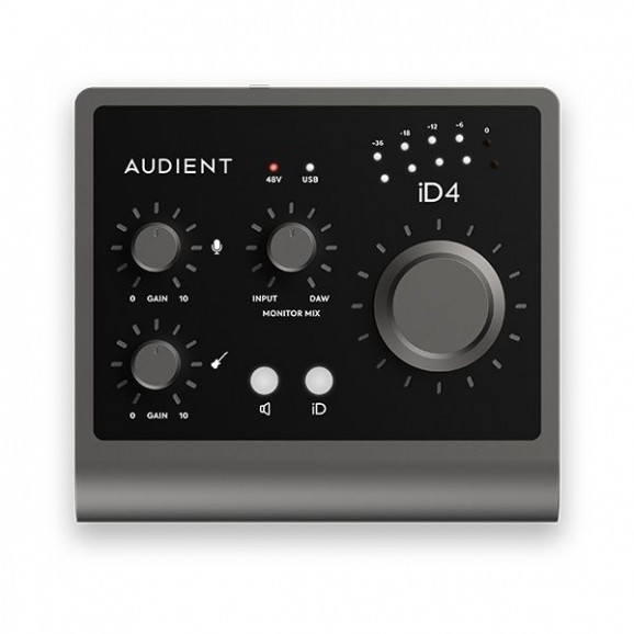 Audient - iD4 MKII 2-In/2-Out Professional Audio Interface