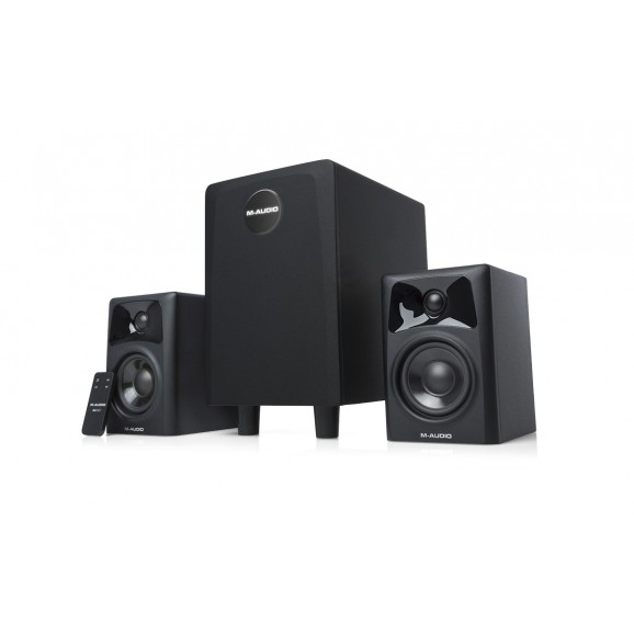 M-Audio AV321 Desktop Powered Monitors with Sub Woofer