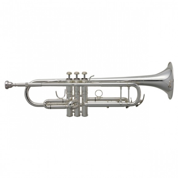 Bach Step Up Intermediate Trumpet in Silver