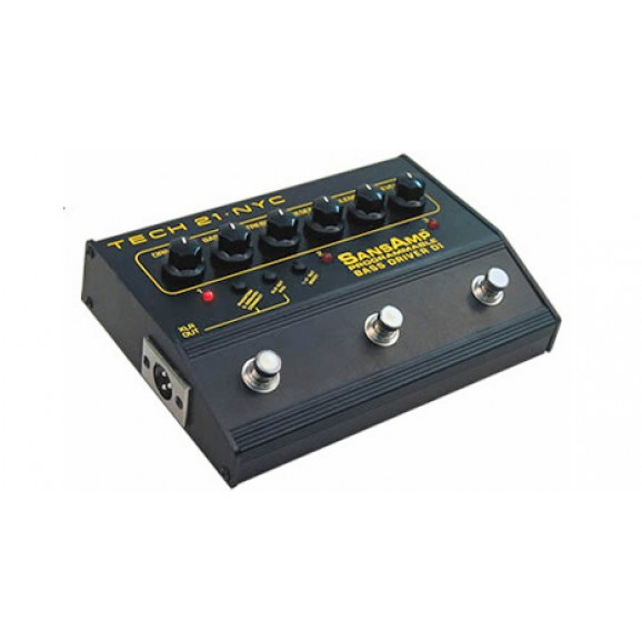 Tech 21 Sansamp Bass Driver Programmable DI Pedal