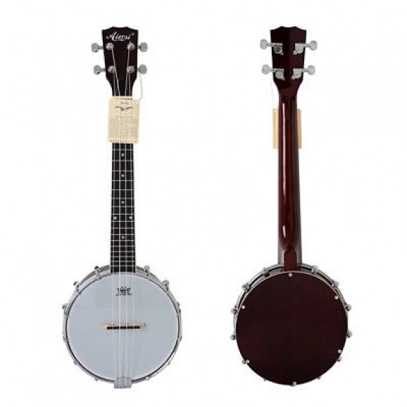 Aiersi BJ-002T Tenor Banjolele with Gig Bag