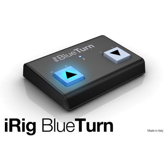 IK Multimedia iRig Blueturn Backlit Silent Bluetooth Page Turner