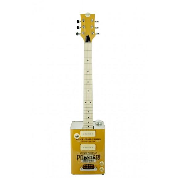 JHS Bohemian Oil Can Electric Guitar TNT