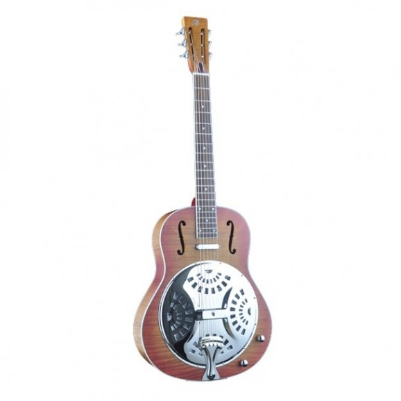 Bourbon Street Resonator Guitar Single Cone Wooden Body