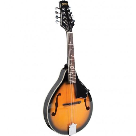 Bryden SMA10 Teardrop A Style Archtop Mandolin in Tobacco Sunburst