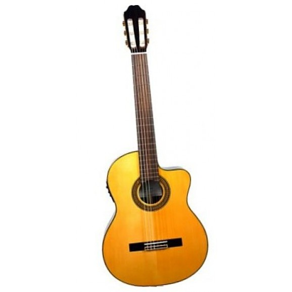 Katoh MCG80 Thinline Classical Electric Guitar