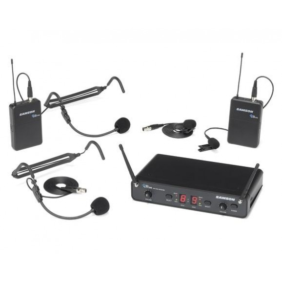 Samson Concert 88 Dual Presentation Wireless Body Pack System