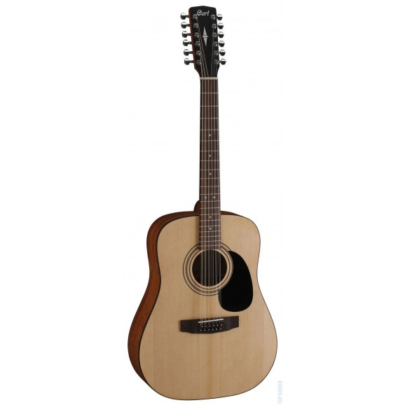 Cort AD810-12 12 String Dreadnought Acoustic Guitar