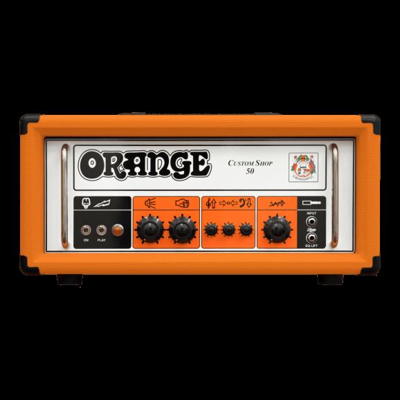 Orange Custom Shop 50 Guitar Valve Head
