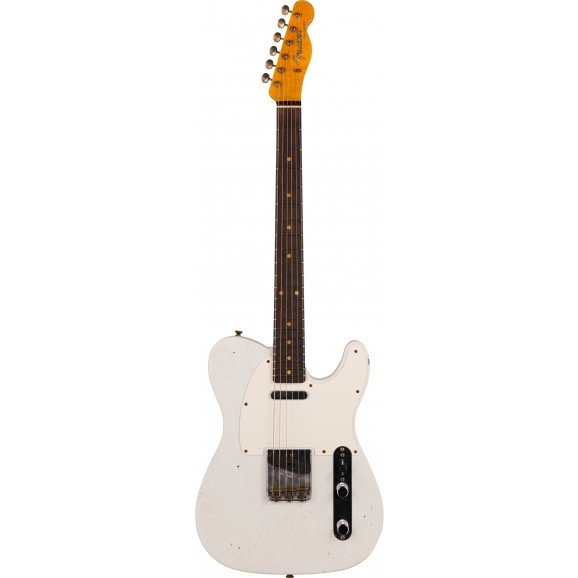 Fender Custom Shop Limited Edition 59 Telecaster Journeyman Relic in Aged Olympic White