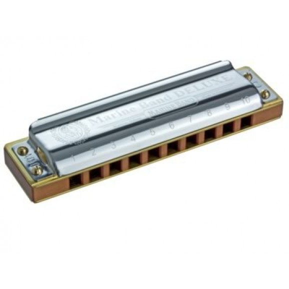 Hohner Marine Band Deluxe Harmonica Key Of F