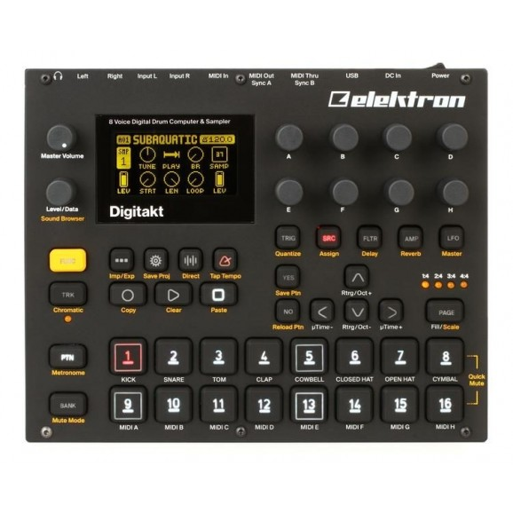 Elektron Digitakt Sampling Drum Machine