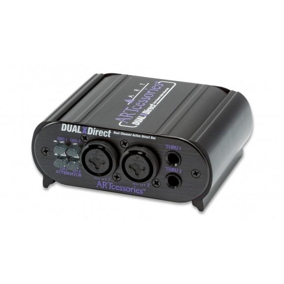 ART - DUALXDirect Dual Channel Active Direct Box