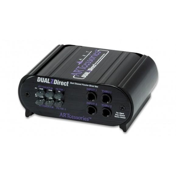ART - DUALZDirect Dual Channel Passive Direct Box