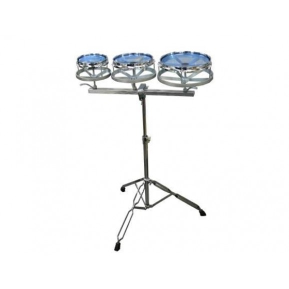 "DXP DRU83 6,8,10"" Rototom set with Stand"