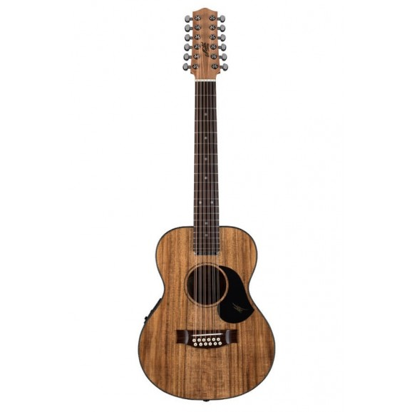 Maton EMBW-12 Blackwood Mini Maton Acoustic Electric Guitar  with Maton Hard Case