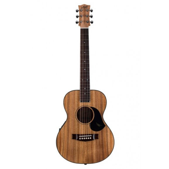 Maton EMBW-6 Blackwood Mini Maton Acoustic Electric Guitar with Maton Hard Case