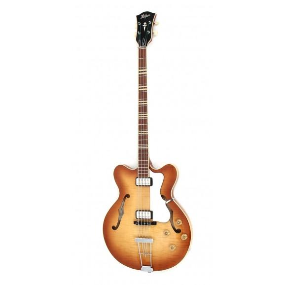 Hofner Verythin Bass Guitar Sunburst