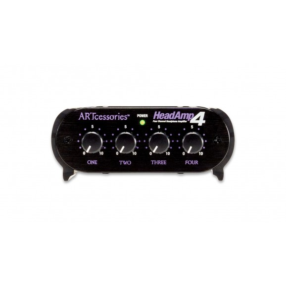 ART - HeadAmp4 Four Channel Stereo Headphone Amplifier