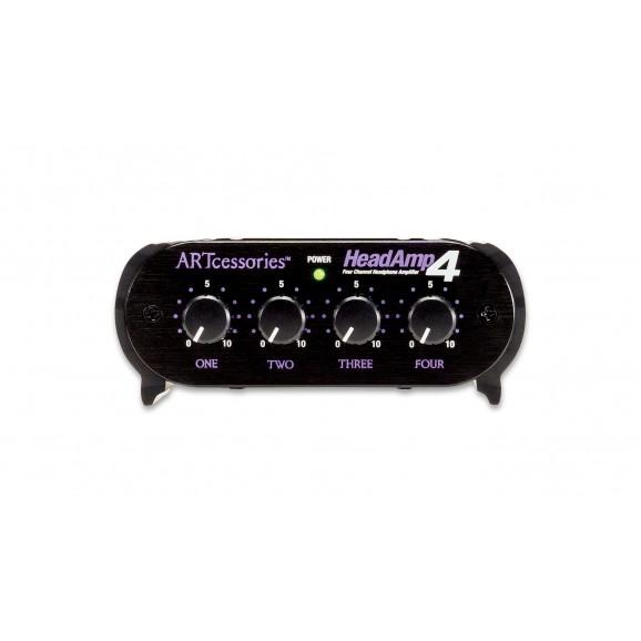 ART - HeadAmp4 Four Channel Stereo Headphone Amplifier