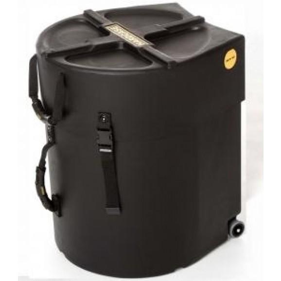 """Hardcase 13""""+ 14"""" Combo Tom Drum Case in Black"""