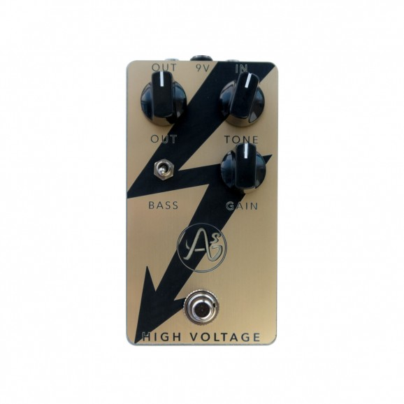 AnaSounds High Voltage Plexi Distortion Pedal in Gold