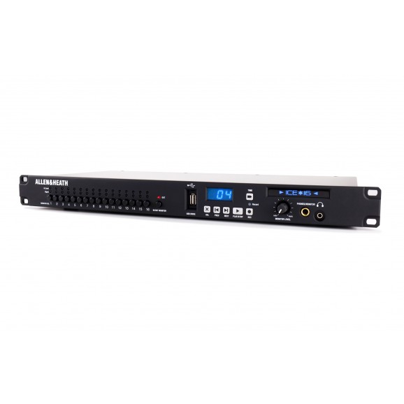 Allen & Heath ICE-16 - 16 channel multitrack recorder + USB/Firewire Interface- Call Us To Check Availability