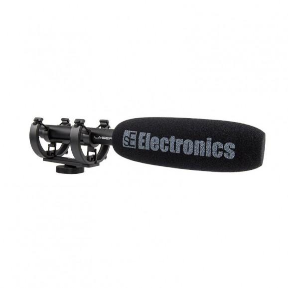 SE Electronics ProMic Laser DSLR On-Camera Shotgun Microphone