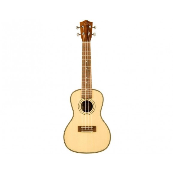 Lanikai Concert Ukulele with Solid Spruce Top includes Bag