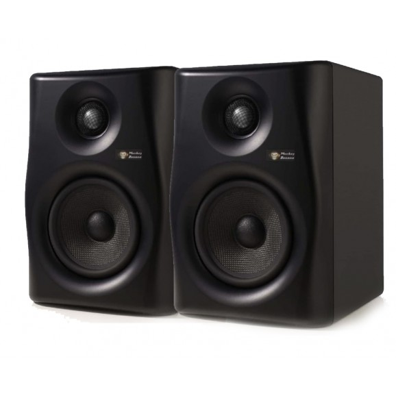 Monkey Banana - Lemur5 Active Modelling Studio Monitors - Pair (Black)