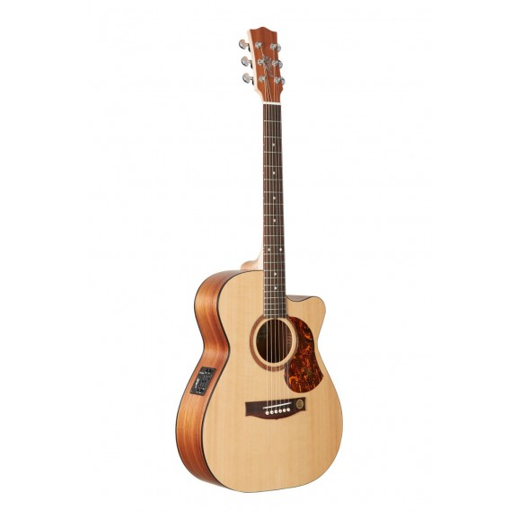 Maton Solid Road Series SRS808C Acoustic Electric Guitar with Hard Case