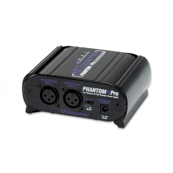 ART - Phantom II Pro Two Channell 48V Phantom Power Supply