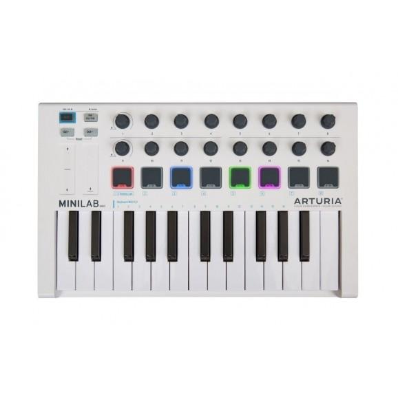 Arturia MiniLab Mk II 25 Key Portable USB MIDI Keyboard