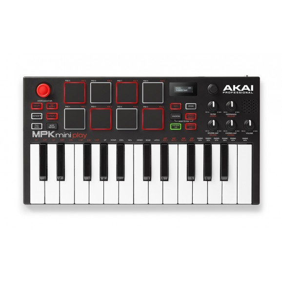 Akai MPK Mini Play - USB Midi Controller & Synth
