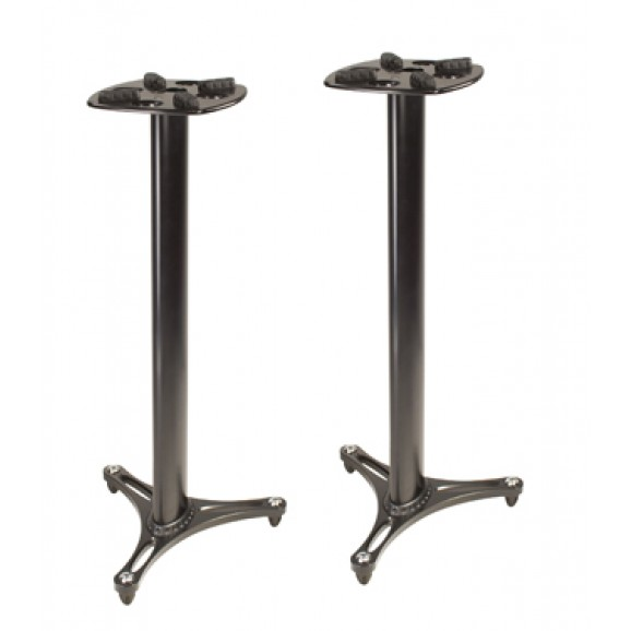 Ultimate Support MS90 45B Studio Monitor Speaker Stands