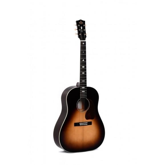 Sigma SJM-SG45 Slope Shoulder Acoustic Electric Guitar