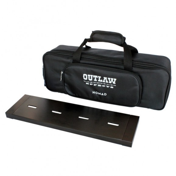 "Outlaw Effects Nomad Rechargeable Powered Pedal Board 19.25"" x 5.25"""