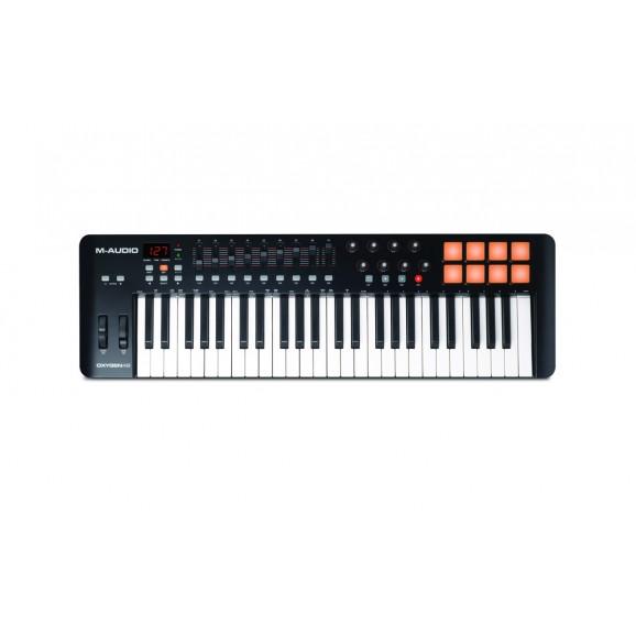 M-Audio - Oxygen Pro 49 49-Key USB MIDI Performance Controller