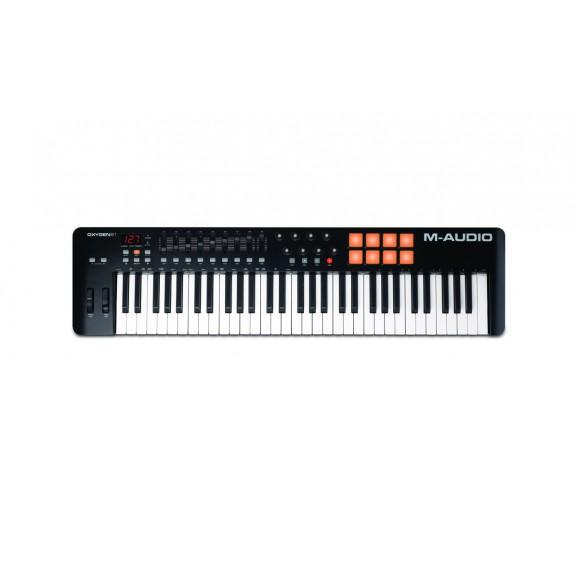 M-Audio - Oxygen Pro 61 61-Key USB MIDI Performance Controller