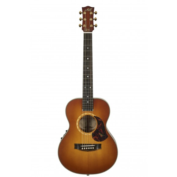 Maton Mini Maton EMD6 Diesel Special Acoustic Guitar with Deluxe Hard Case