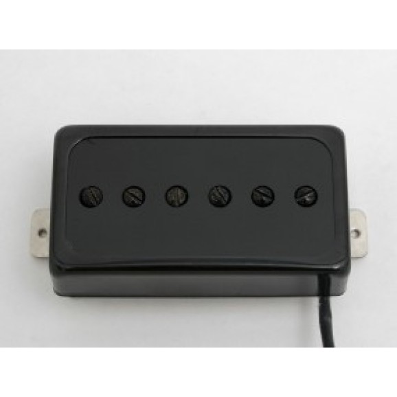 Duesenberg Domino P90 Pickup - Bridge - Black (P9BBB)