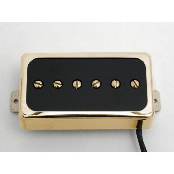Duesenberg Domino P90 Pickup - Bridge - Gold (P9BGB)