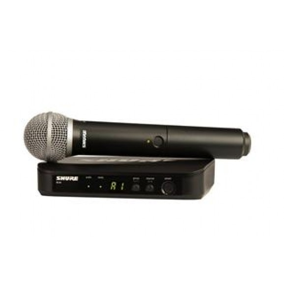 Shure BLX24/PG58 Handheld Wirless Microphone System