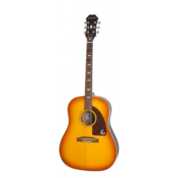 """Epiphone - Limited Edition Peter Frampton """"1964"""" Texan Acoustic Electric Guitar in Sunburst"""