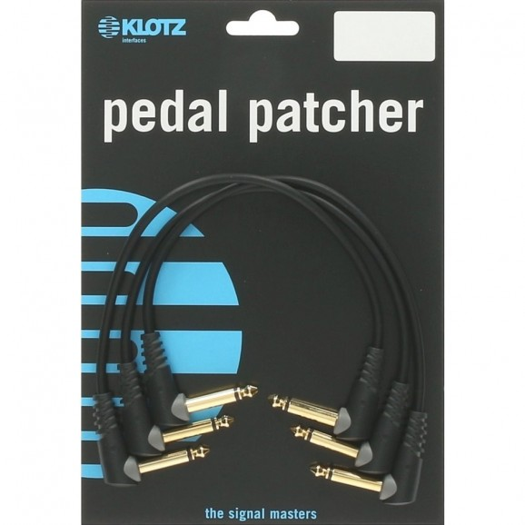 Klotz 30cm Patch Cables - 3 Pack