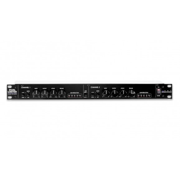 ART - DUAL LIMITER Classic PWM Limiter with Two Channels of Dynamic Processing - Rack Mount