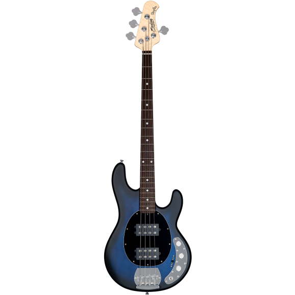 Sterling by Musicman Stingray Ray4HH Bass Guitar in Pacific Blue Burst Satin