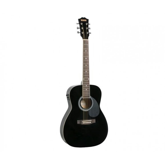 Redding 3/4 Size Electric/Acoustic Guitar in Black