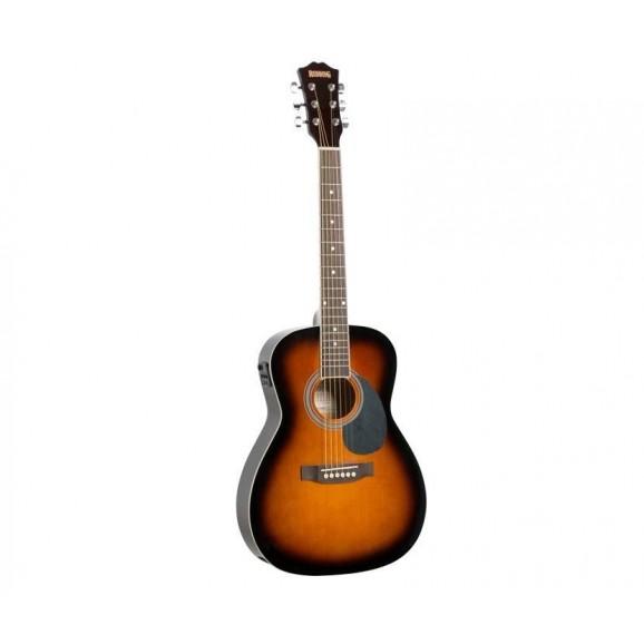 Redding 3/4 Size Electric/Acoustic Guitar in Tobacco Sunburst